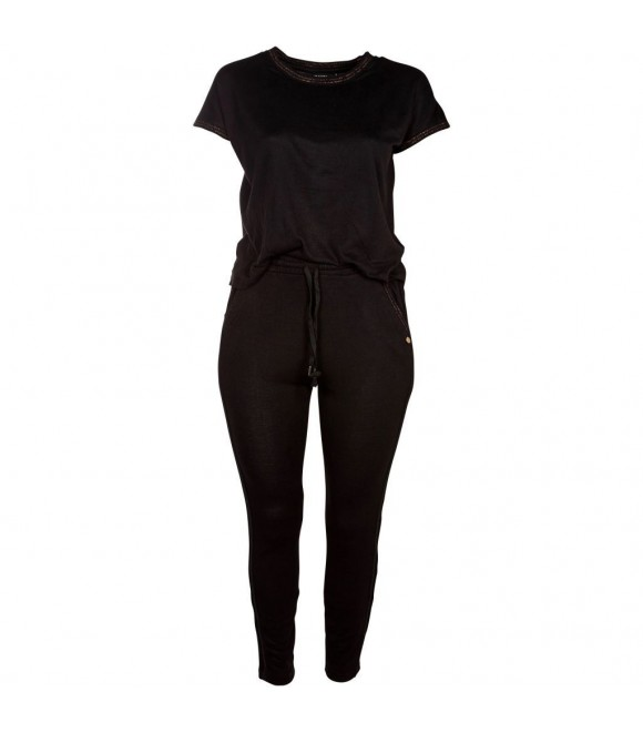 ZOEY - JUMPSUIT M/PIPING