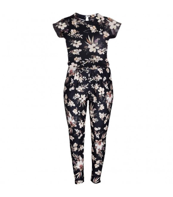 ZOEY - JUMPSUIT M/ BLOMSTER