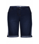 Zhenzi - DENIM SHORTS M/PIPING