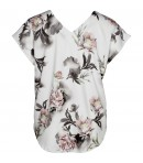 ZOEY - BLUSE M/BLOMSTER