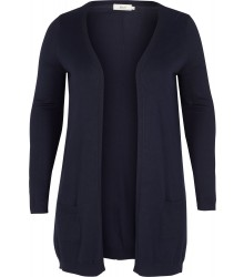 ZIZZI - LANG CARDIGAN M/LOMMER