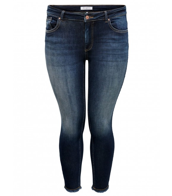 Only Carmakoma - CROPPED JEANS M/FRYNS I BEN