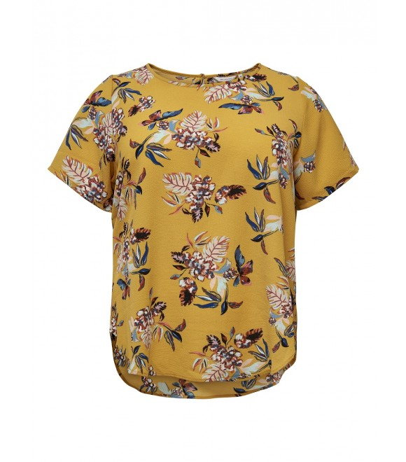 Only Carmakoma - BLUSE M/BLOMSTER