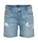 ZIZZI - DENIM SHORTS M/SLIDHULLER
