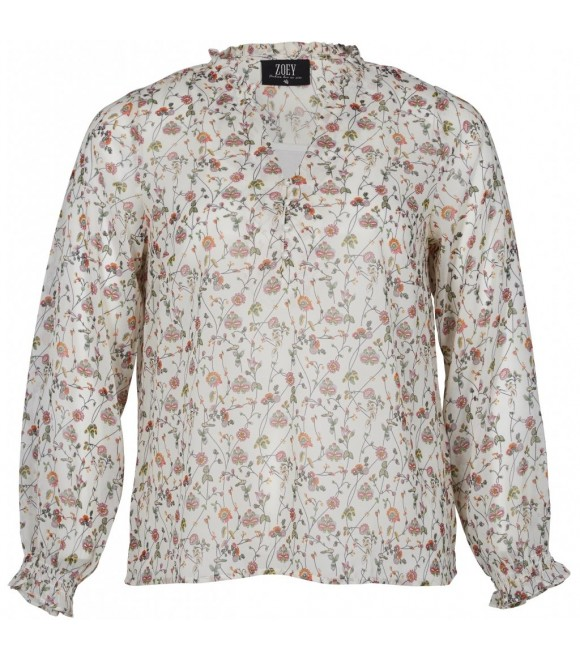 ZOEY - BLUSE M/TOP & PRINT